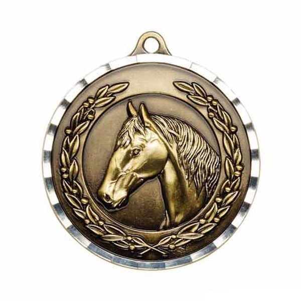 Horse Riding Medal MDC27AG