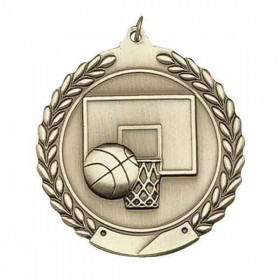 Basketball Medal MS103AG