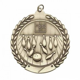 Médaille Bowling MS104AG