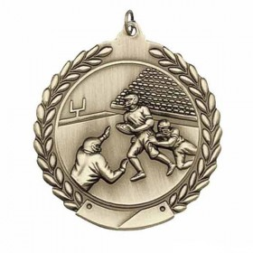 Médaille Football MS106AG