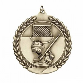 Médaille Hockey MS110AG