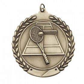 Tennis Medal MS115AG
