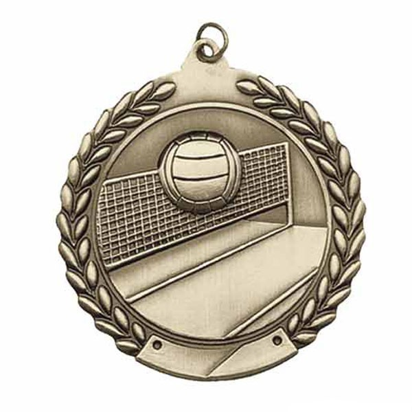 Volleyball Medal MS117AG