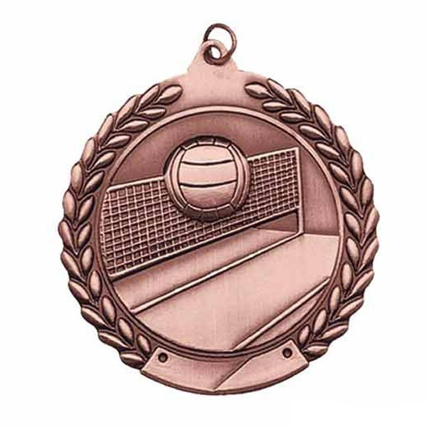 Volleyball Medal MS117AB