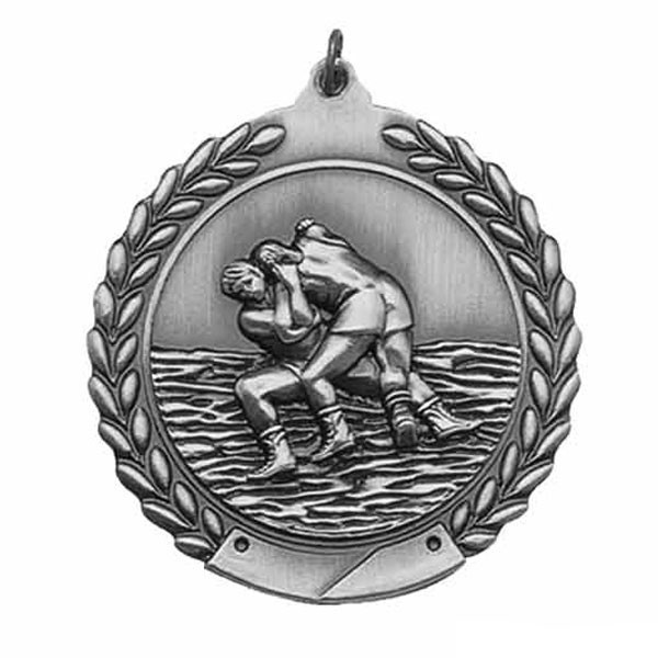 Wrestling Medal MS118AS