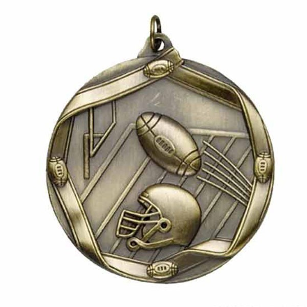 Football Medal MS606AG