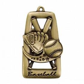 Médaille Baseball M902AG