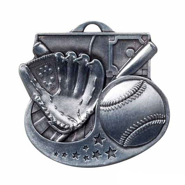 Médaille Baseball M1002AS