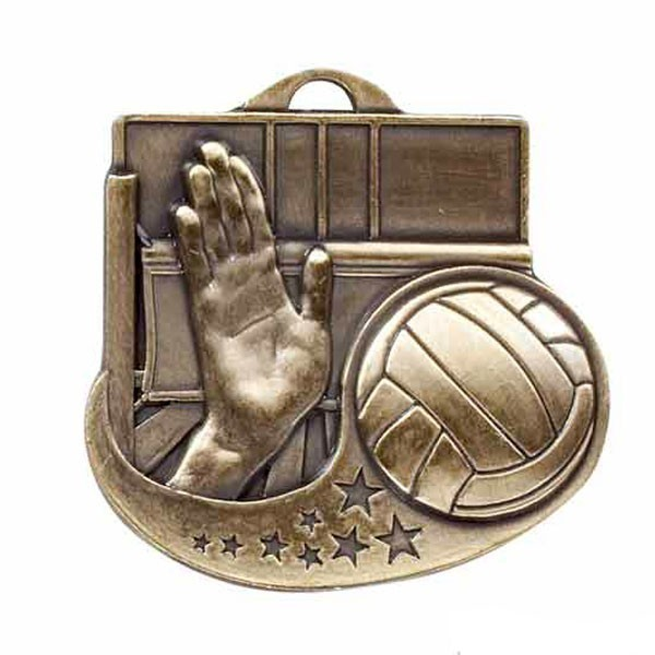 Volleyball Medal M1017AG