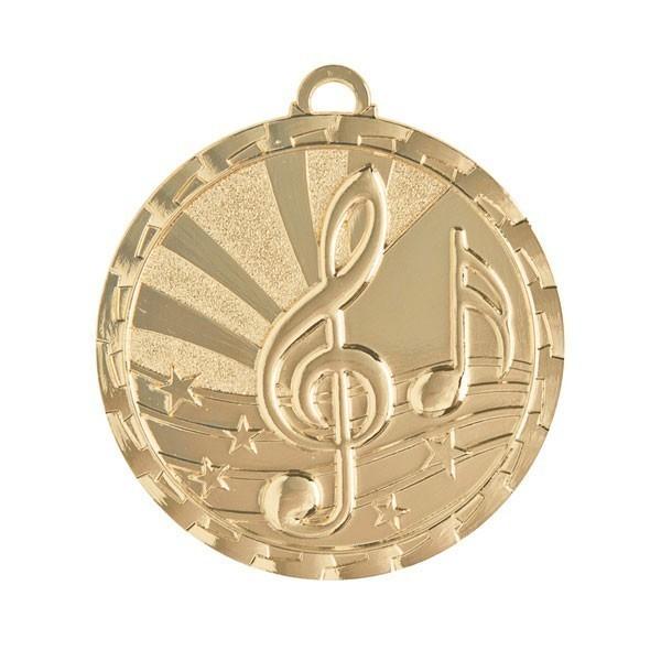 Médaille Musique 2 po GM-230G