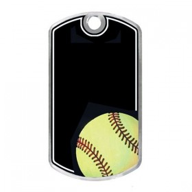 Softball Dog Tags KT262