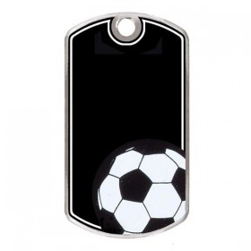 Soccer Dog Tags KT215