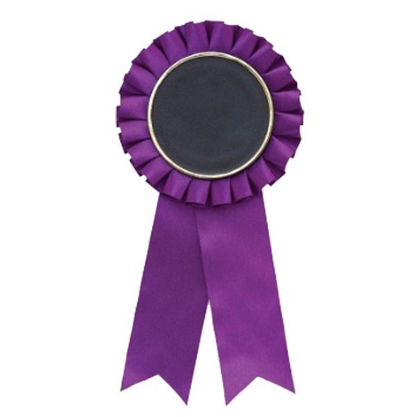 Purple Rosette RR6-PU