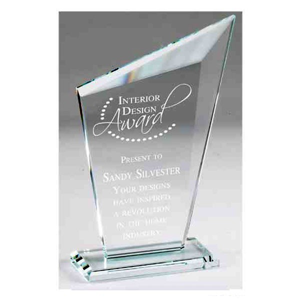 Deluxe Crystal Glass Trophy