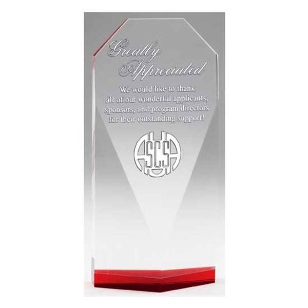 Trophée Cristal CRY543