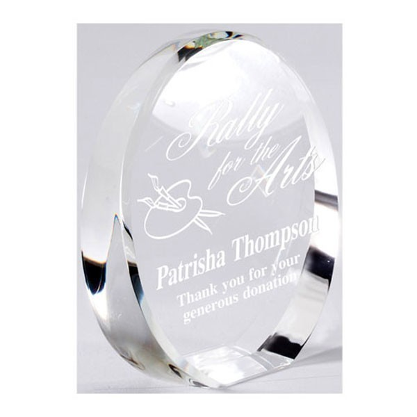 Trophée Cristal CRY606