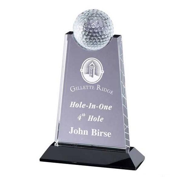 Trophée Cristal Golf CRY307