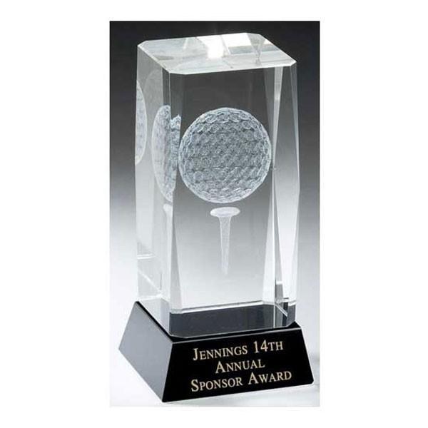 Trophée Cristal Golf TDL002