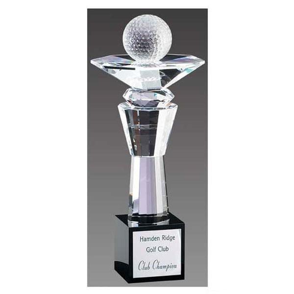 Trophée Cristal Golf CRY123