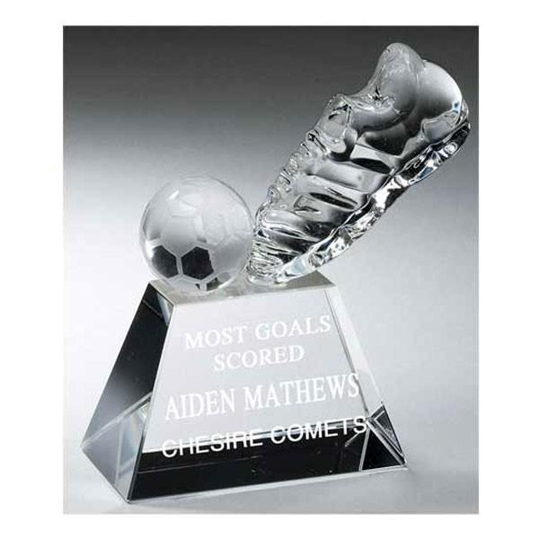 Trophée Cristal Soccer TDS006S
