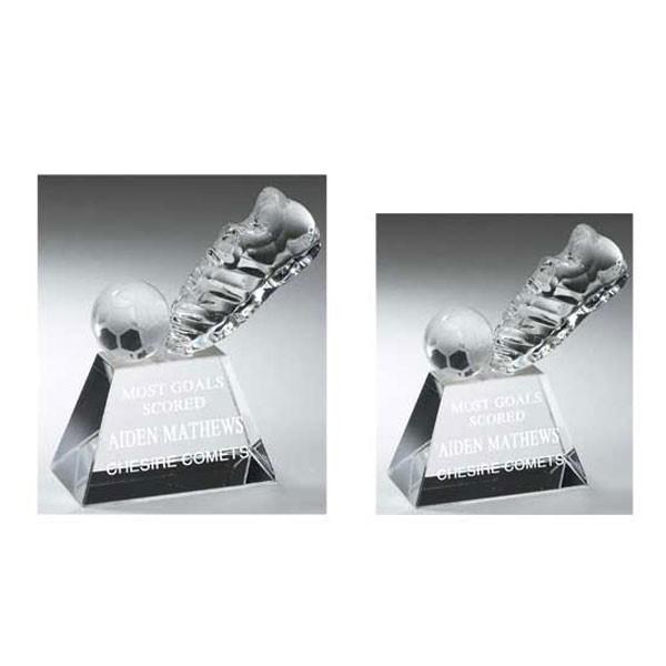 Trophée Cristal Soccer TDS006L