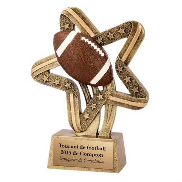 Football Resin Award SSR-612
