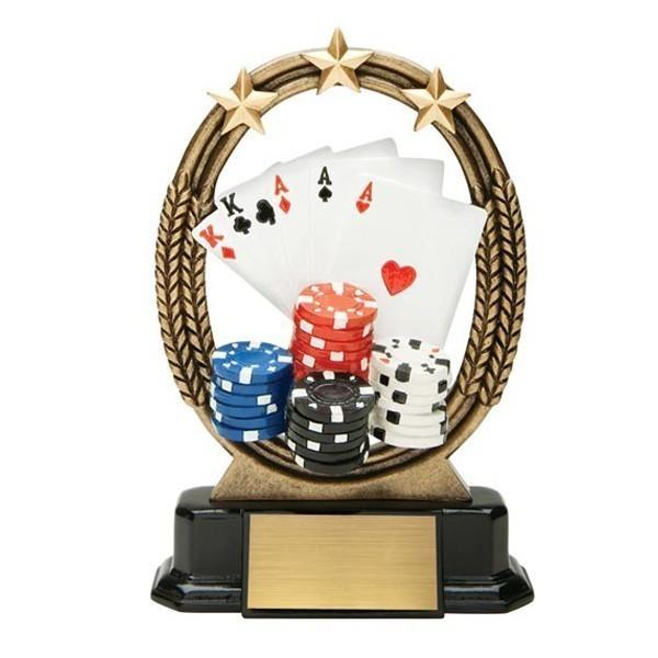 Trophée Poker ROX634