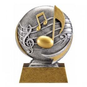Trophée Résine Musique MX512