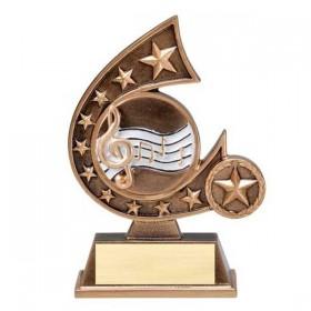 Trophée Résine Musique RCS133