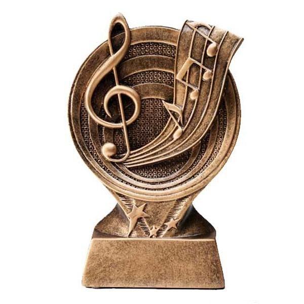 Trophée Résine Musique RF2614
