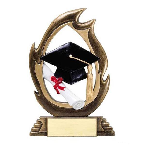 Trophée Résine Graduation RFL42B