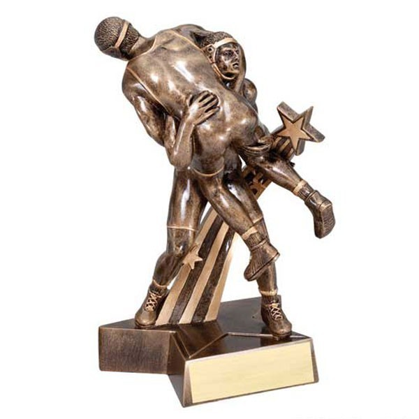Wrestling Resin Award RST334