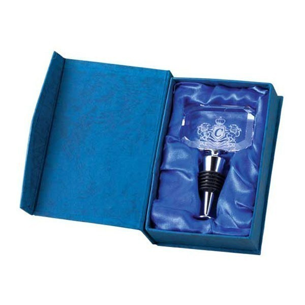 Crystal Bottle Stopper CRY790-BOX