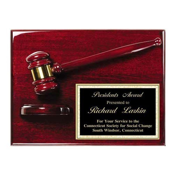 Gavel Plaque AGP-40PL