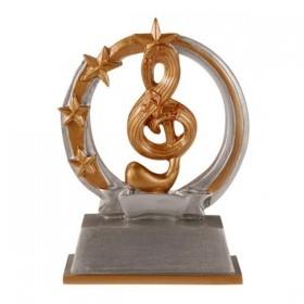 Trophée Résine Musique RF-61247