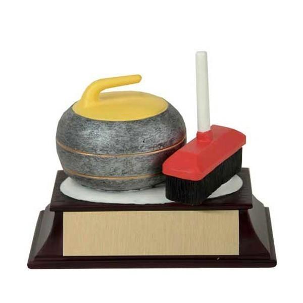 Trophée Résine Curling RF00019FC