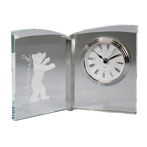Glass Book Clock DA9755