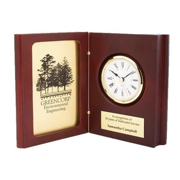 Rosewood Clock DA9361