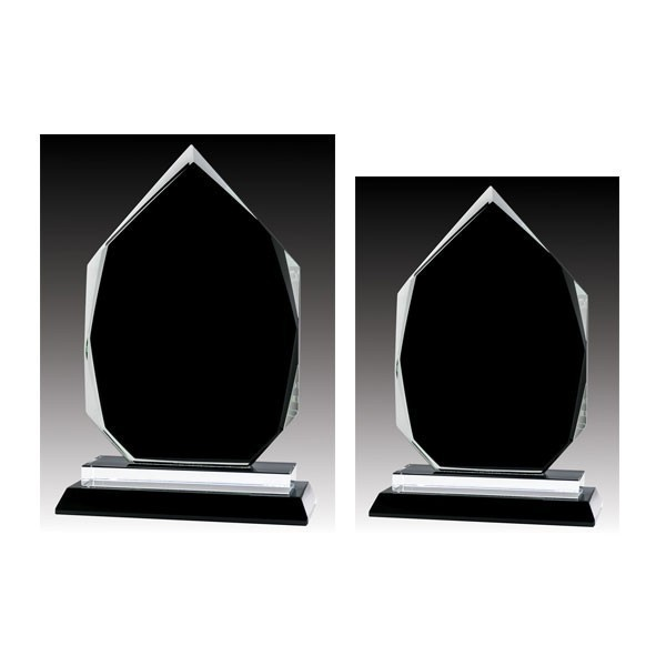 Glass Trophies Sizes GLBK1049B