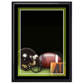 Plaque Murale Football Noire