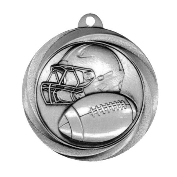 Football Silver Medals MSL1006S