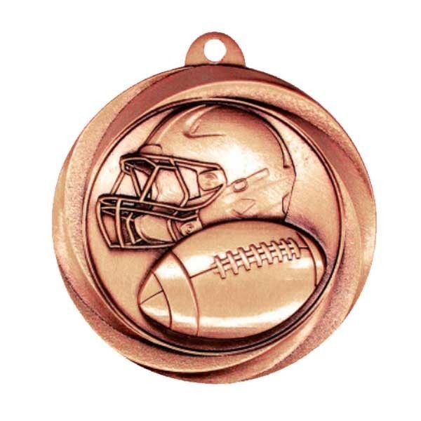 Football Bronze Medals MSL1006Z