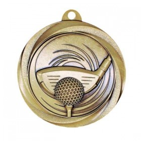 Médaille Or Golf MSL1007G