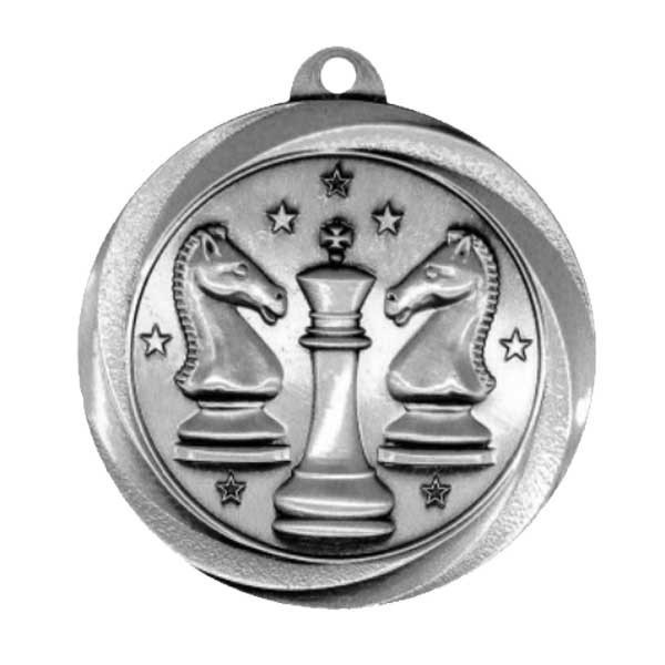 Chess Silver Medal MSL1011S