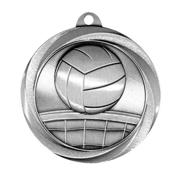 Volleyball Silver Medal MSL1017S