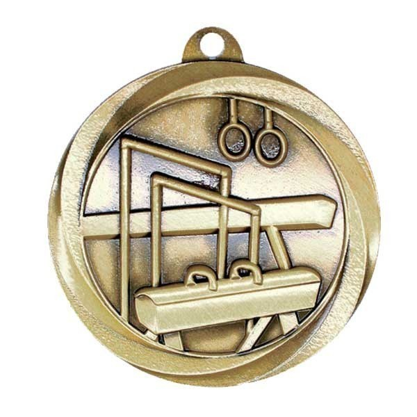 Médaille Or Gymnastique MSL1025G