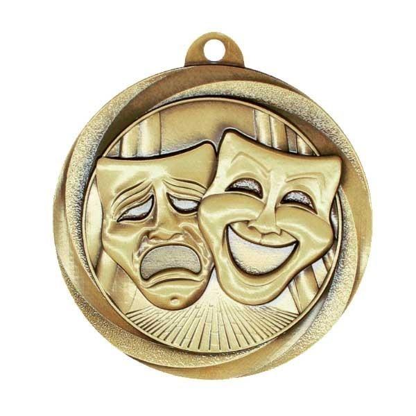 Médaille Or Art Dramatique MSL1046G
