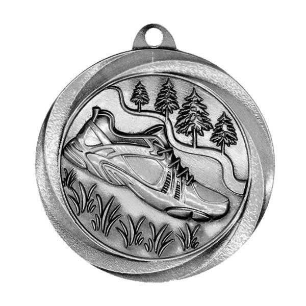 Cross Country Silver Medal MSL1055S