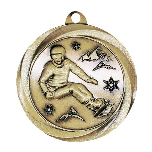 Snowboarding Medal MSL1081G
