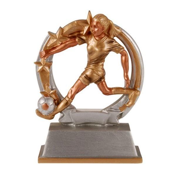 Female Soccer Resin Award RF-61265